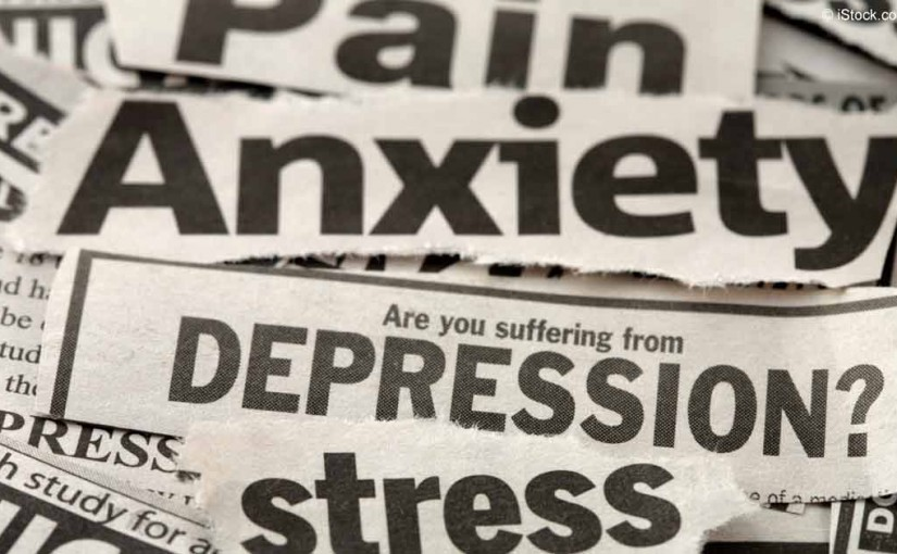 Anxiety, depression and stress